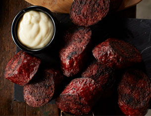 hickory farms grilled summer sausage is great for game day