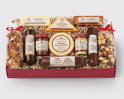 Hickory Farms holiday gift baskets