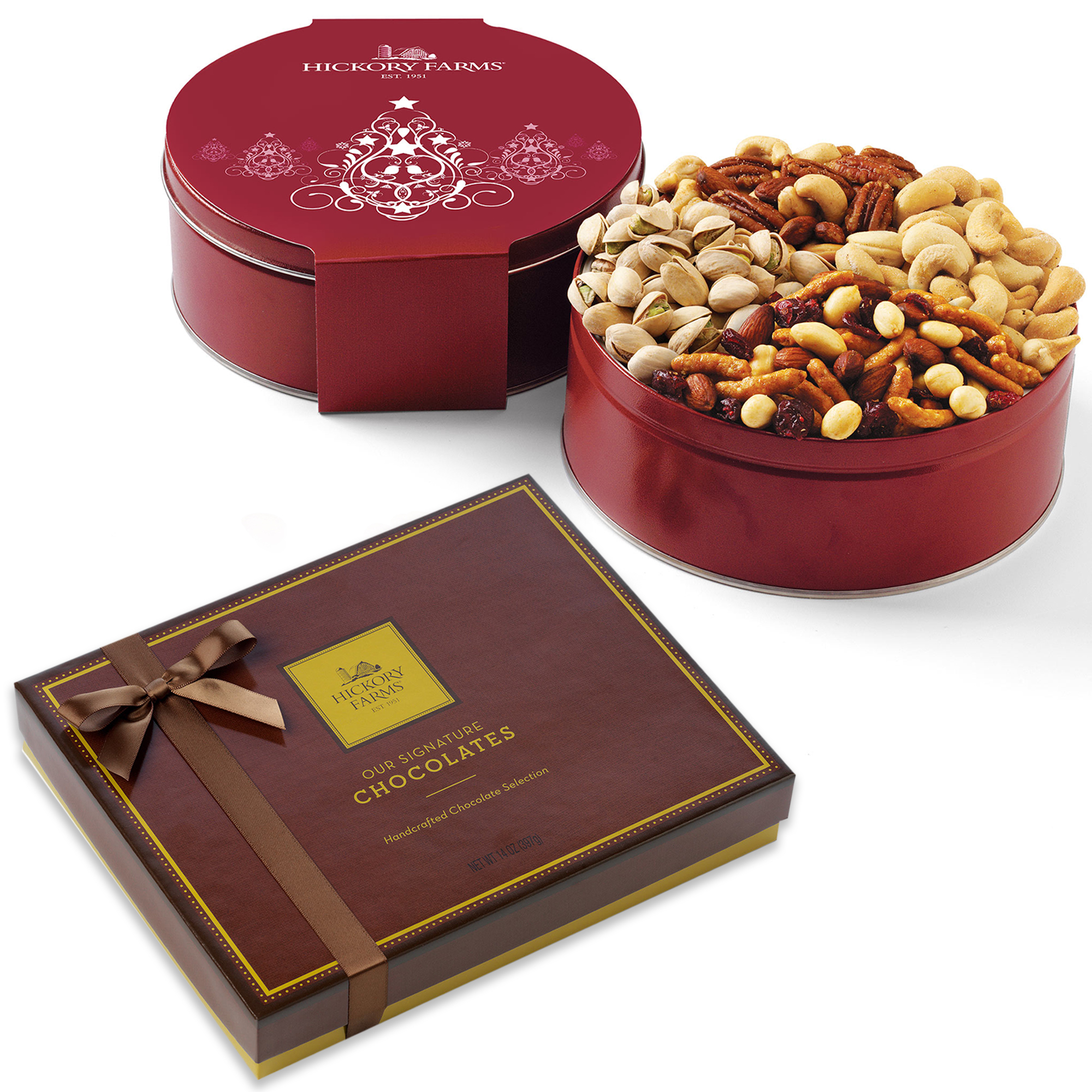 Holiday Nuts and Chocolate Collection