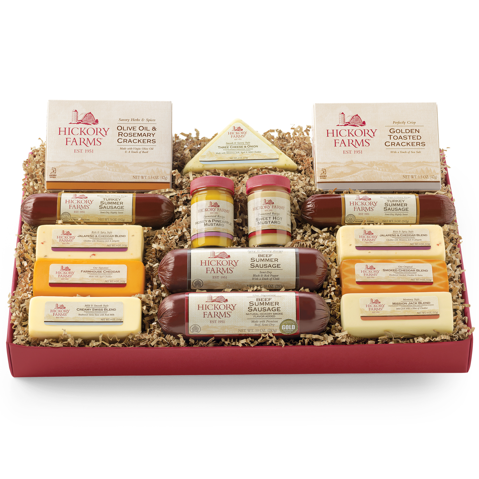 Hillshire Farms Gift Basket - 100 images - hickory farms coupon ...