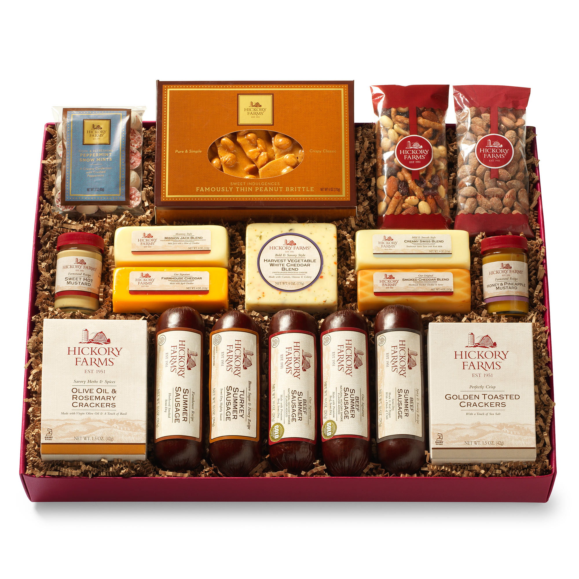 All day celebration gift box gift hickory farms hickory farms all day celebration gift box negle Choice Image