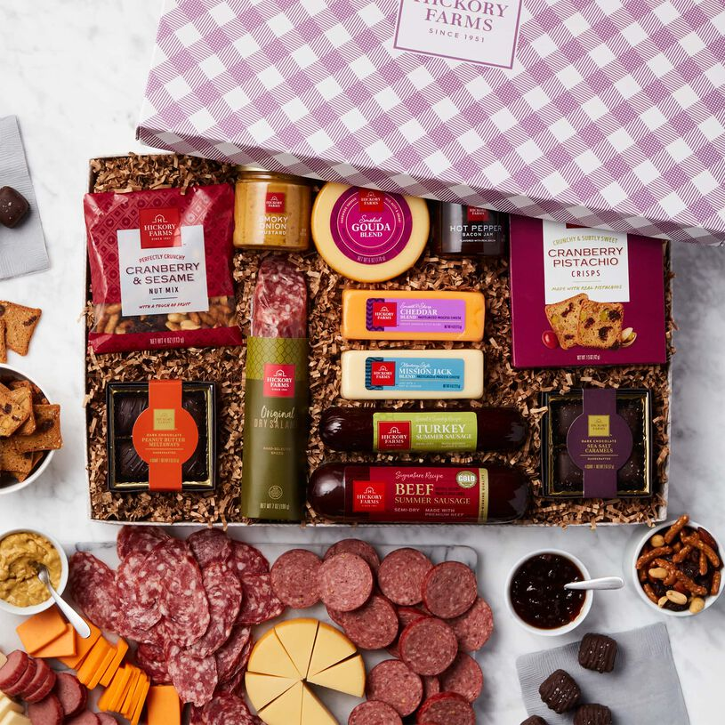 Spring Charcuterie & Chocolate Gift Box