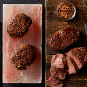 Our 6 oz Filets taste even better when they're cooked on top of the included Salt Block crafted from premium Himalayan salt.
