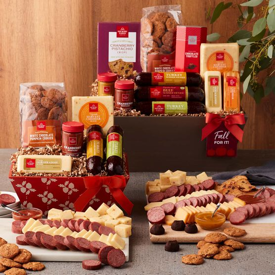 Harvest Flavors Gift Basket Party Spread