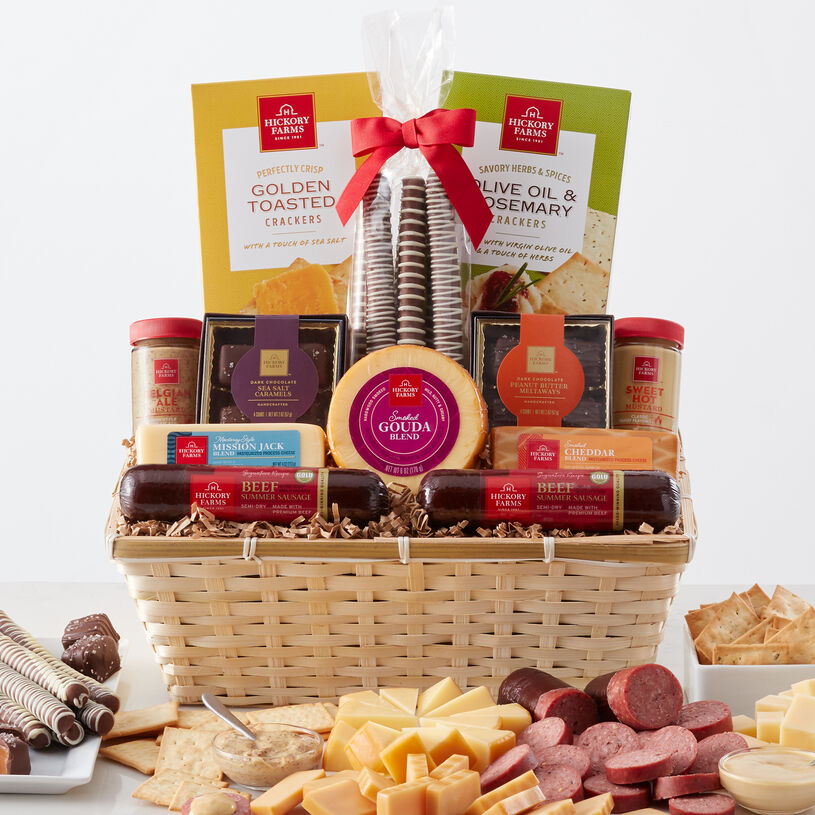 Favorite Flavors Gift Basket | Hickory