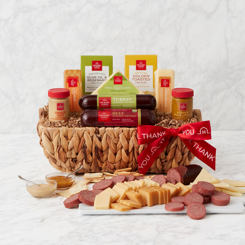 Thank You Signature Bites Gift Basket