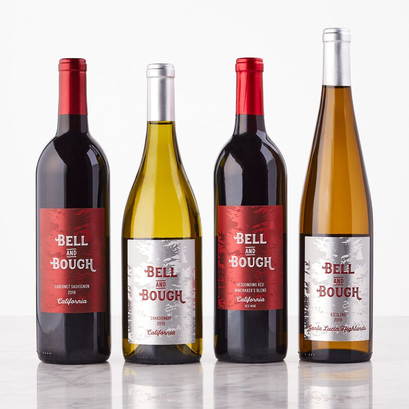 Bell & Bough California Wine Gift Set