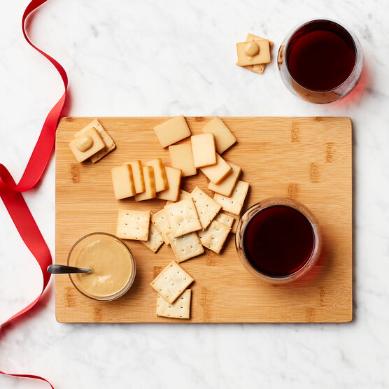 Red Wine & Cheese Board Gift Set Charcuterie Spread Cheese Board