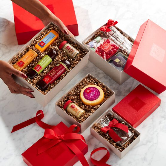 Deluxe Sweet & Savory Gift Tower Tower Contents