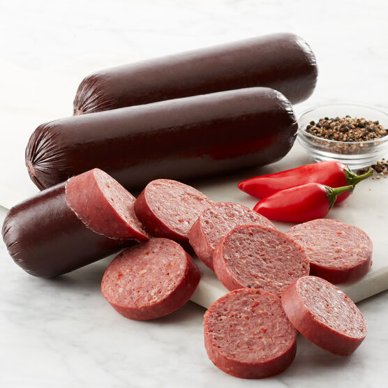 Spicy Beef Summer Sausage