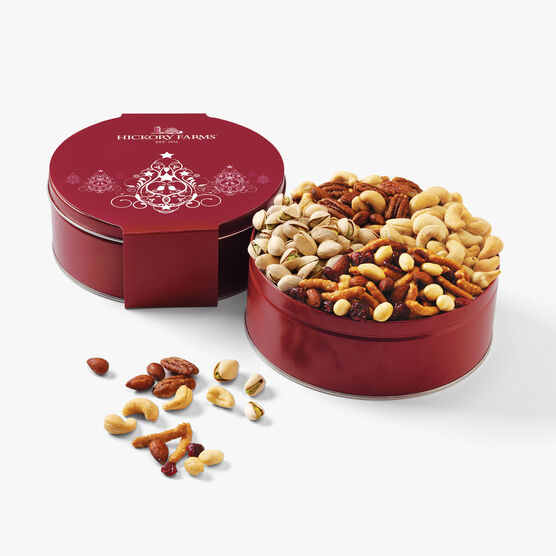 Hickory Farms Grand Nut Party Assortment Tin