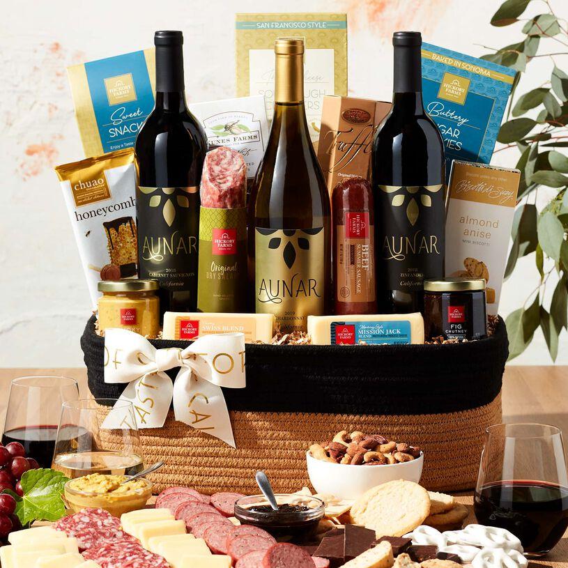 California Comforts Wine Gift Basket