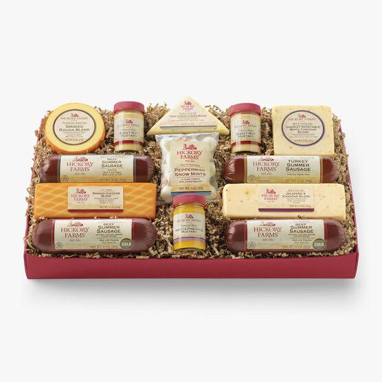 Hickory Farms Deluxe Smokehouse Gift Box