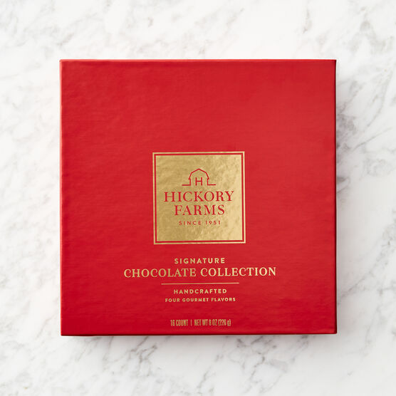 Signature Chocolate Collection Red Box Lid