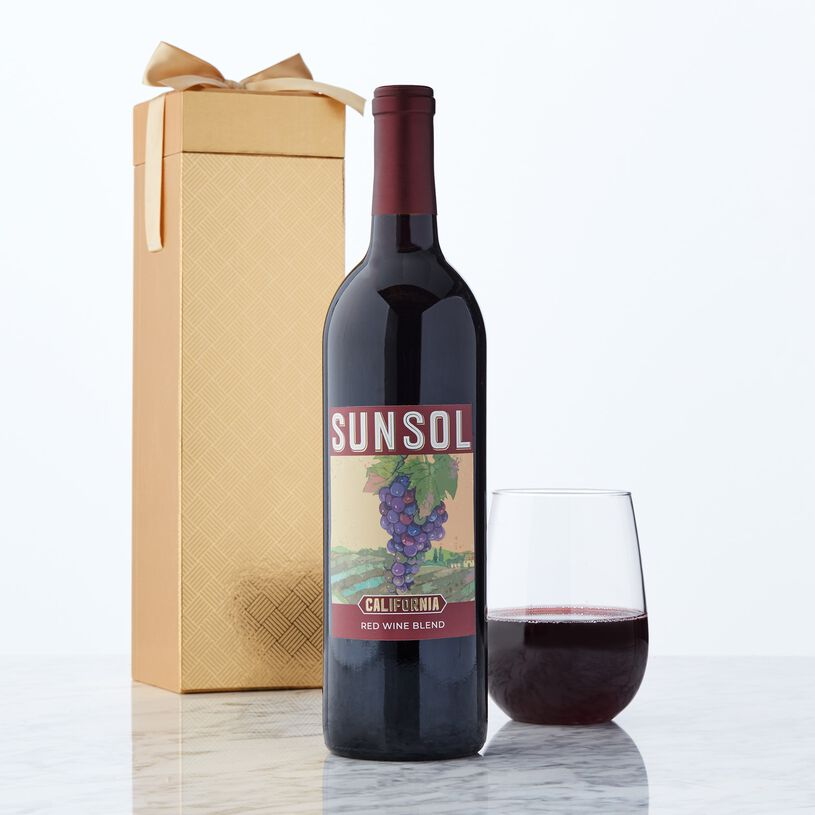 This delicious California wine is cherry-forward with a velvety mouth-feel. It has jammy notes of raspberry and a bright finish.