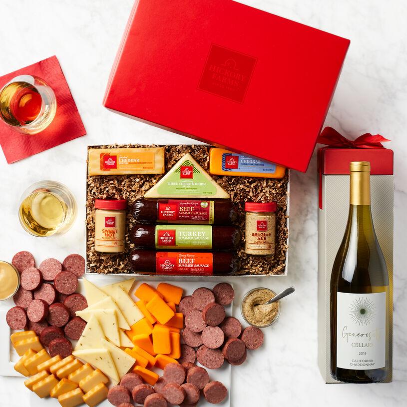 Hearty Bites & Chardonnay Gift
