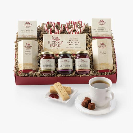 Hickory Farms Tea Time Collection Gift Box