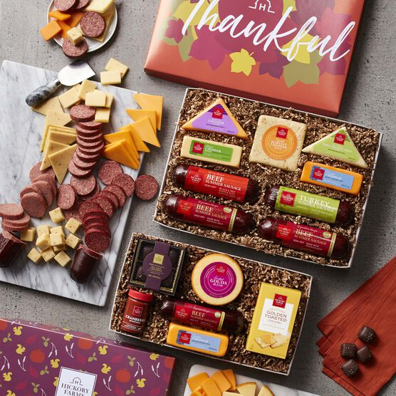 Fall Sweets & Snacks Gift Box Party Spread