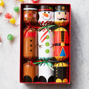 Our Festive Holiday Poppers are filled with fruity hard candies and make a celebratory pop when pulled.