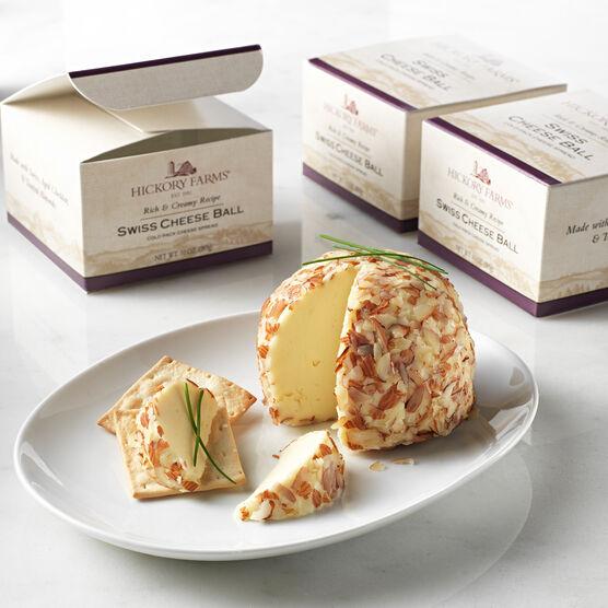 swiss cheese ball - 3 pack