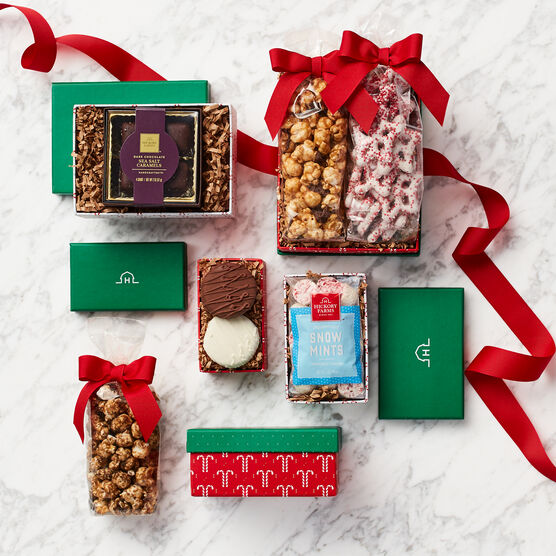 Holiday Sweets Gift Tower Box Contents