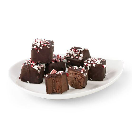dark chocolate peppermint meltaways