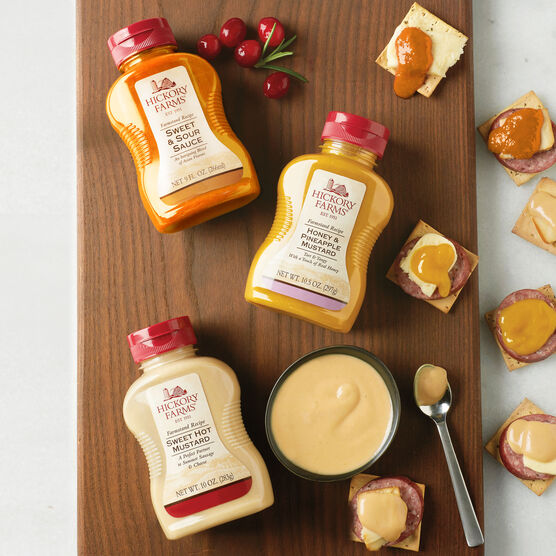 Hickory Farms Mustard Flight