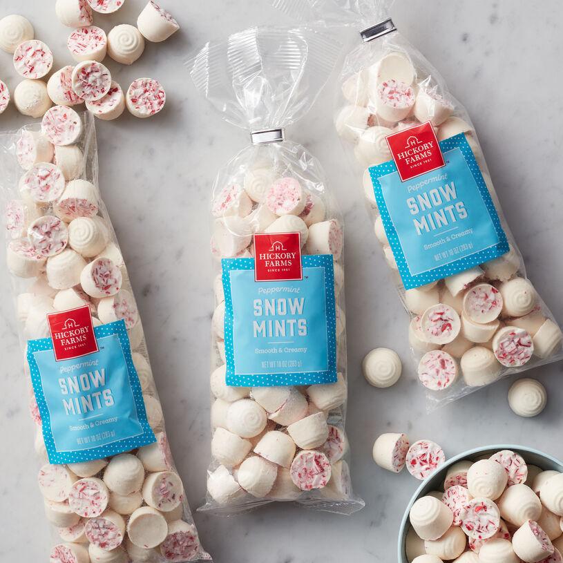 (3) 10 oz Snow Mints
