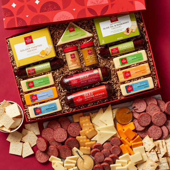 Alternate view of Season's Eatings Hearty Party Gift Box