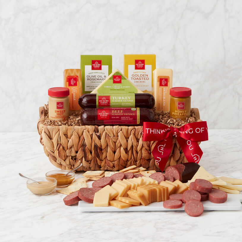 Thinking of You Signature Bites Gift Basket