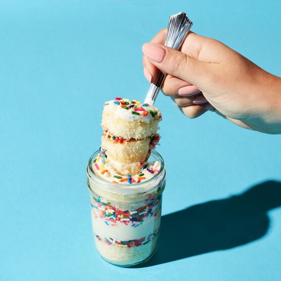 Vanilla Birthday Cupcake Spoonful