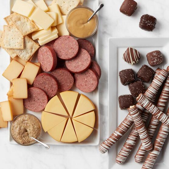 Favorite Flavors Gift Basket Charcuterie