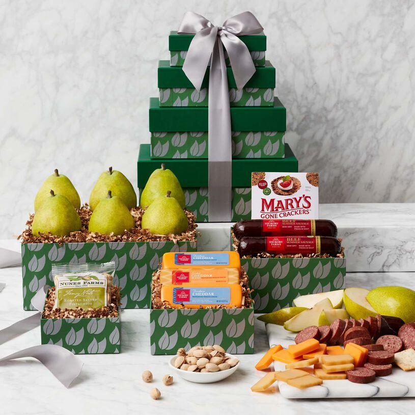 Gluten Free Fruit & Snack Gift Tower