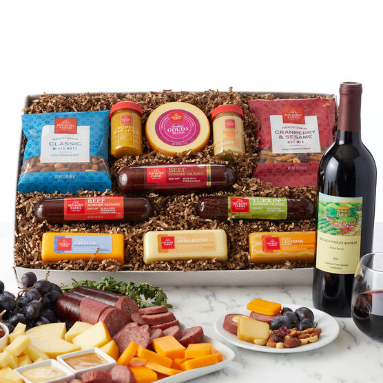 Signature Favorites & Wine Gift Set