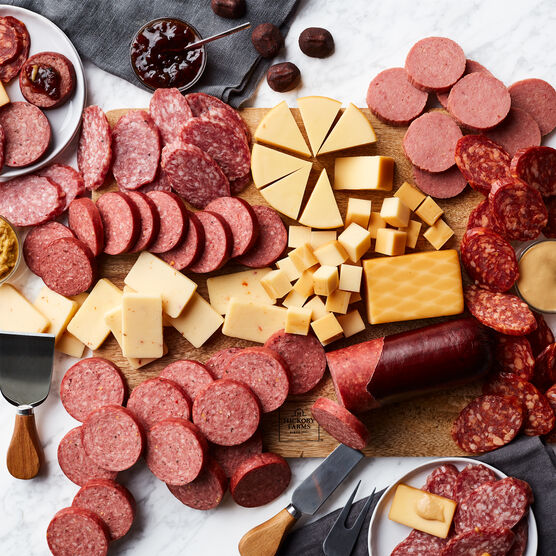 Grand Signature Charcuterie Gift Box Platter Spread