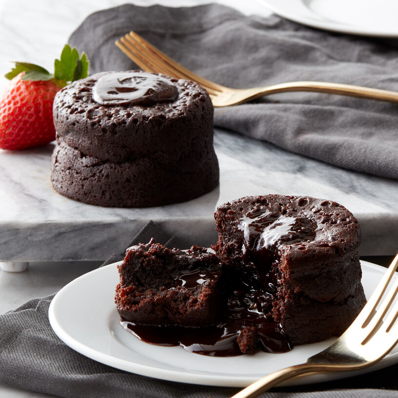 (2) Chocolate Lava Cakes