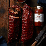 This gift set includes two racks of our Premium Pork Ribs that arrive plain so Dad can prepare them exactly how he likes them.