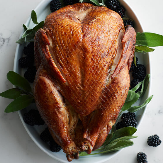 This tender bird is incredibly moist and flavorful. It's fully cooked and ready to enjoy at room temperature, or warm in your oven for an easy and delicious holiday meal.