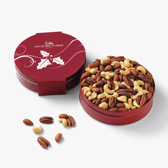 Hickory Farms Our Finest Mixed Nuts Tin