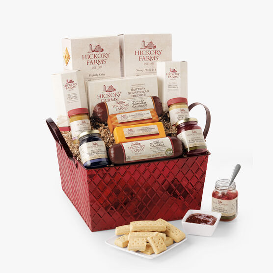 Hickory Farms Savory & Sweet Holiday Gift Basket