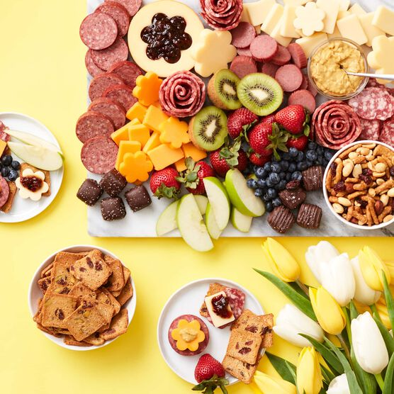Spring Charcuterie & Chocolate Gift Box Charcuterie Spread