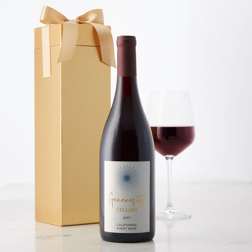 Light ruby in color, this California Pinot Noir is a light, smooth, fruity wine.