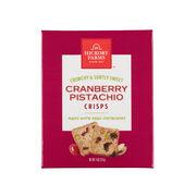 Cranberry Pistachio Crisps
