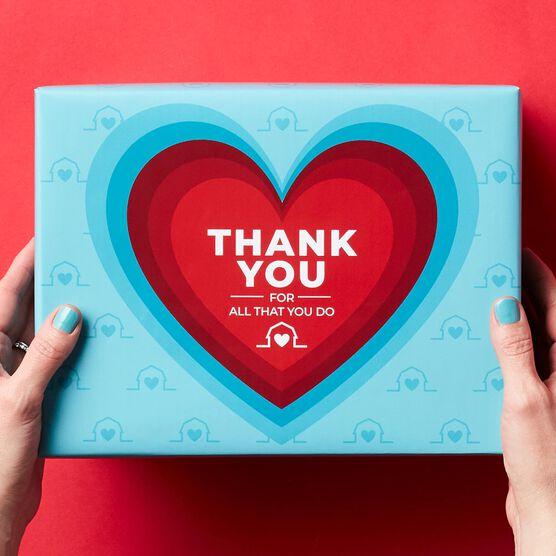 A+ Teacher Thank You Gift Box Lid
