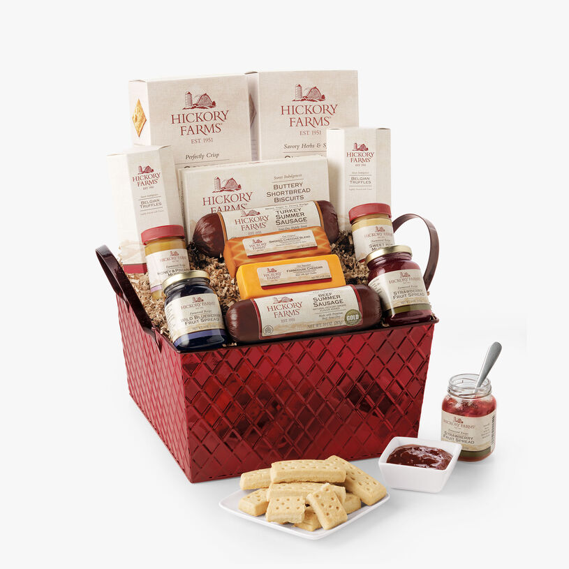 Savory & Sweet Holiday Gift Basket