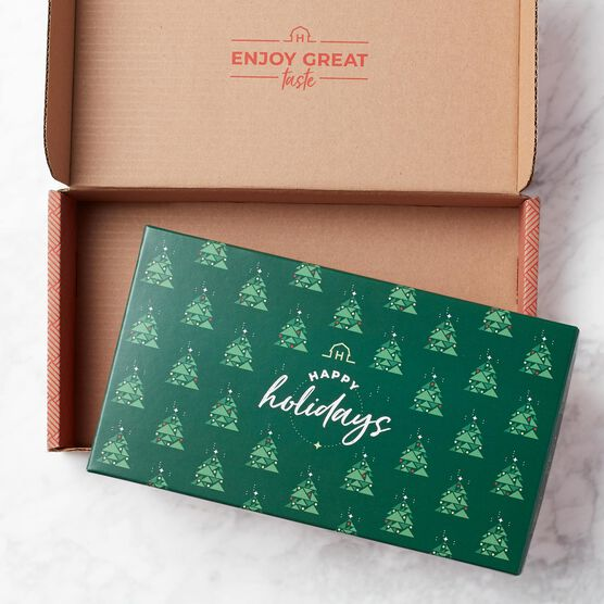 Happy Holiday Flavors & Wine Gift Set Mailer