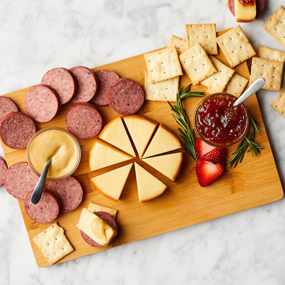 Savory Snacks & Board Gift Set Charcuterie Spread