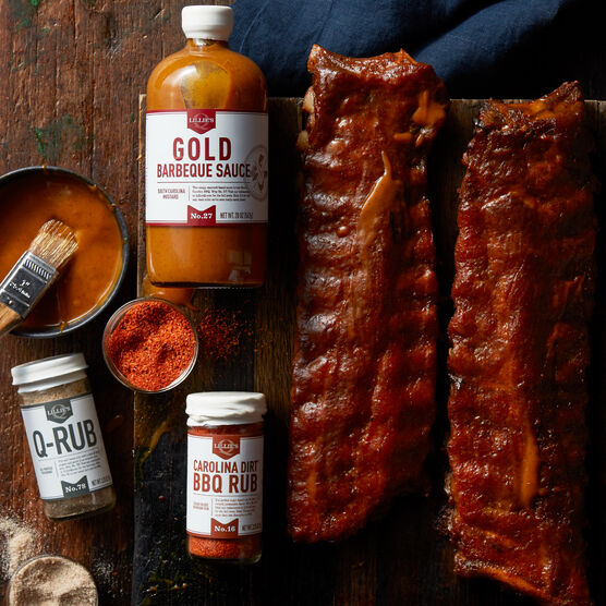 Premium Pork Ribs Barbeque Gift Set