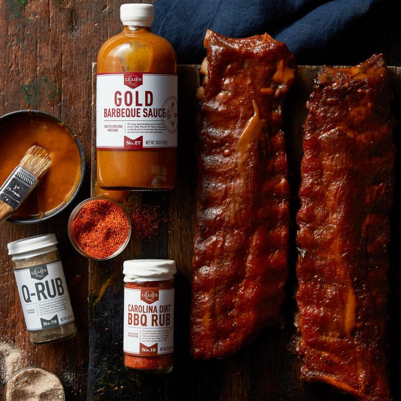 Premium Pork Ribs Barbeque Gift Set
