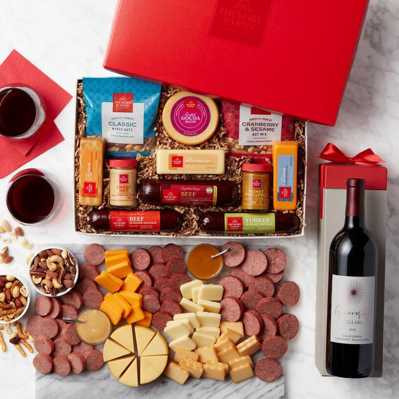 Signature Favorites & Wine GiftSet
